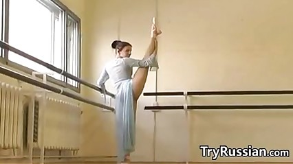 Russian Ballet Dancer Flashes Will not hear of Pussy