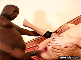 Ana is Reamed all over DP Anal