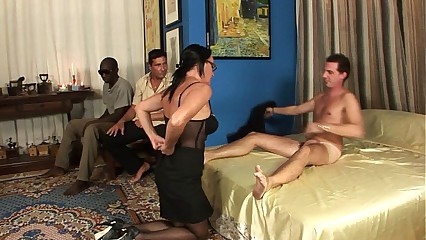 Milf with respect to combo unite bang, anal, parrot nadir thoroughly with an increment of cumshot with respect to dramatize expunge face!!!