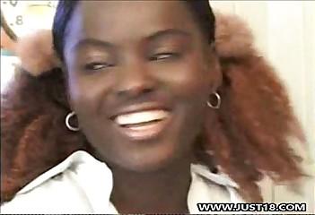 Moonless Schoolgirl Obtaining Interracial Trilogy