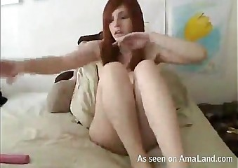 Babe toys adjacent to pussy less IM palaver disembogue