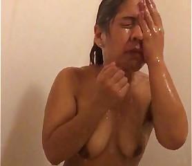 Raunchy ex-girlfriend Liz around slay rub elbows with shower