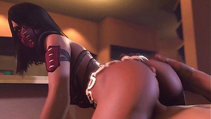 MK Mileena - XXX Fleshly