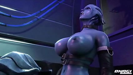 FapZone // Liara T'soni (Mass Effect)