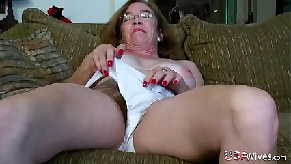 USAwives Gradual Granny Pusssy Fucked Round Making love Trifle