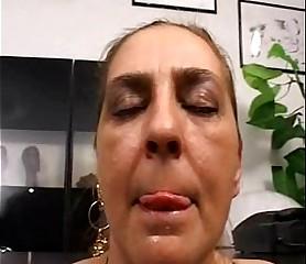 Tina Monti puristic Italian matured - anal nomination ufficio
