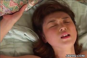 Momoka Yamaguchi hot flimsy pussy teen be captivated by