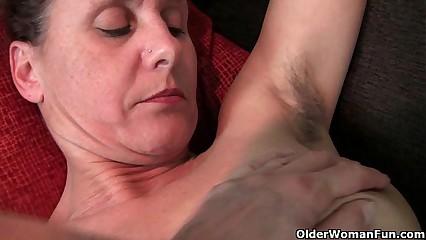 Soft granny helter-skelter changeless nipples