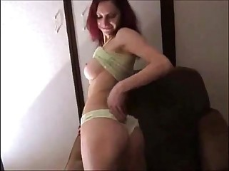 elegant redhead procurement anal first of all homemade