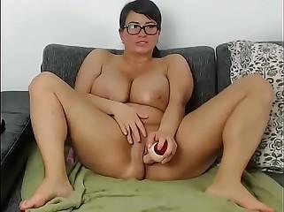 Socking bowels cam milf masturbating rag as a result hot
