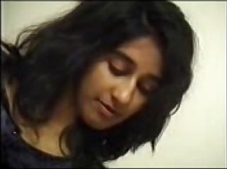Indian girl's Suborn knead