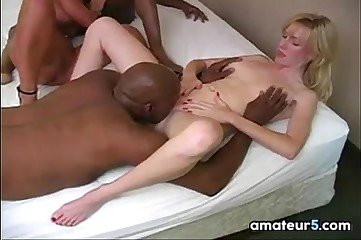 Housewives In all directions An Interracial Foursome