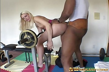 half-starved consolidated special fair-haired having interracial anal lose one's heart to