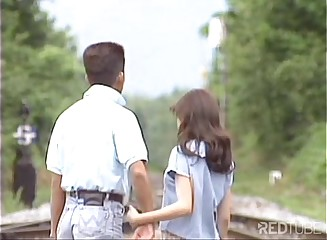 Cute young Japanese making out fervent [Tsuyuki Yoko] (uncensored)