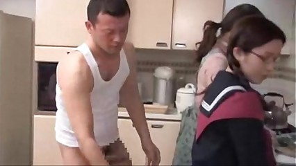 japanese glasses schoolgirl fucked at the end of one's tether brothers