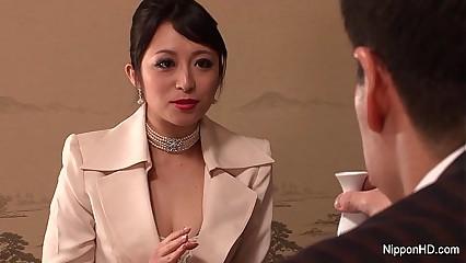 Japanese Liaison babe gets fucked
