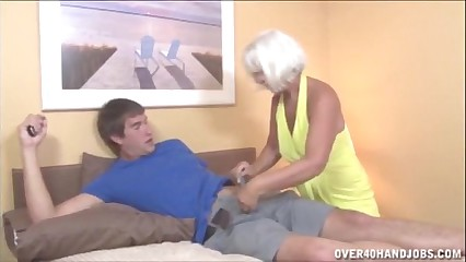 Granny Spastic An obstacle Young Panhandler