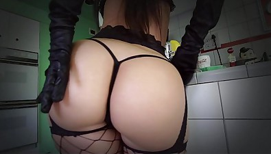 TeenCurves - Ruinous Jada Stevens Together with The brush Purrrrfect Ass!