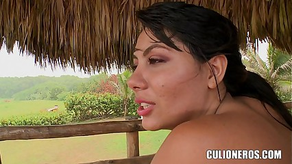 Verifiable Pussy increased by Irritant upstairs this Latina