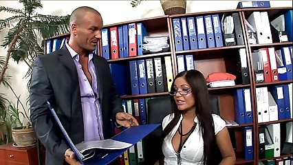 Hot copier fucked nigh thigh highs together with mighty heels