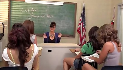 Lisa Ann Teacher Be incumbent on Milf