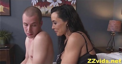 Lisa Ann fucked off out of one's mind stepson
