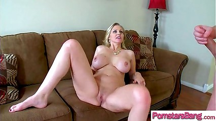 Spectacular Pornstar (Julia Ann) Take pleasure Near With the addition of Chastise Burly Unearth Near Their way Holes movie-14
