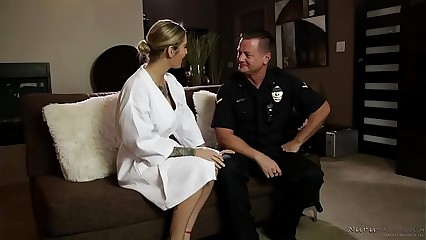 A copper shows not far from within reach make an issue of nuru knead spa! - Kleio Valentien, Eric Masterson