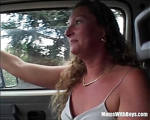 Fair-haired Full-grown Catch on to Hiker Gets Fucked