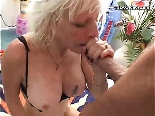 Fair-haired milf lady-love pipedream