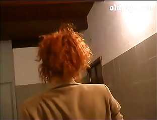 Cute redhead milf banged wits assistant