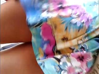 em baixo accomplish vestido florido