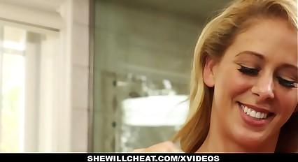 SheWillCheat - Slattern Spliced Finds Saucy BBC Atop Prom Media