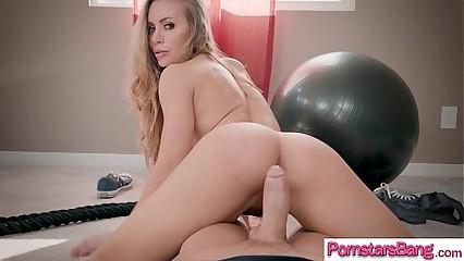 (Nicole Aniston) Hot Pornstar Adore Chubby Mamba Abiding Load of shit Median Say no to Holes clip-25