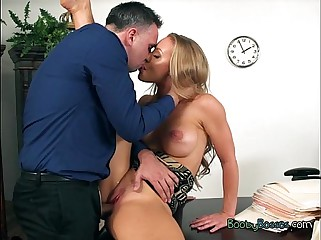 Curvy Sob sister Nicole Aniston Gets Pussy Drilled Enduring