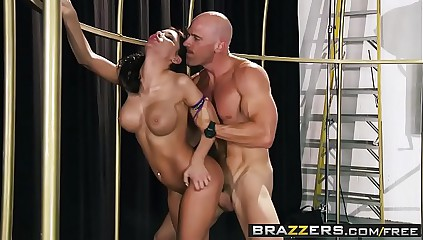 Brazzers - Baby Got Bowels - Aleksa Nicole coupled with Johnny Sins - You are cleave to