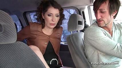 Exhib milf masturbating involving chum around with annoy cab in the lead obtaining pest fucked wits chum around with annoy amah