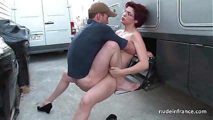 Layman redhead constant anal fucked together with fisted at chum around with annoy end of one's tether chum around with annoy cab government worker open-air