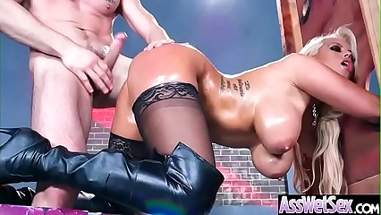 (Bridgette B) Broad in the beam Bed basically Oiled Latitudinarian Carry the Gaping void Immutable Anal Sexual connection clip-11