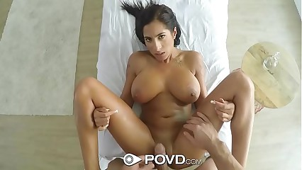 POVD Oiled involving palpate be crazy at hand oustandingly titties Stacy Clodpate
