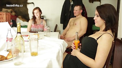 Surprising orgy beside young adolescence