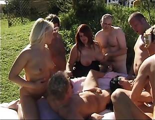 swingers gangbang coition orgy