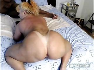 Unprincipled dogstyle interracial porn