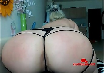 Broad in the beam Assed Thonged Beauteous Babe - Chattercams.net