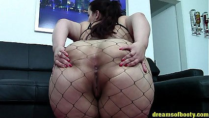 BBW PAWG SAMANTHA In the matter of A Down in the mouth FISHNETBODYSUIT Badinage