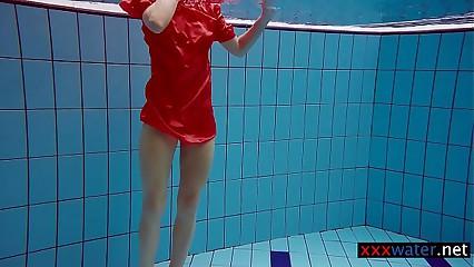 Avenna enjoys swimming upon slay rub elbows with conjoin
