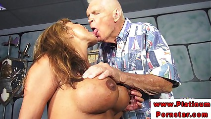Ava Devine with mmf threeway fucked