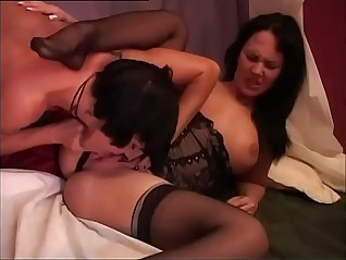 Italian tribadic pornstars alongside sham
