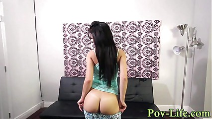 Teen fucked wits bbc down pov