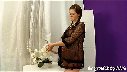 Eloquent Vicky foreign PregnantVicky.com #10